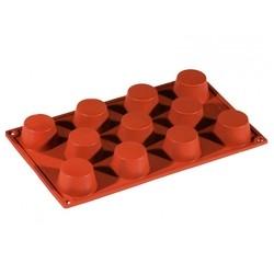 compra en línea Molde para 11 mini magdalenas o cupcakes de silicona (30 x 18 cm)