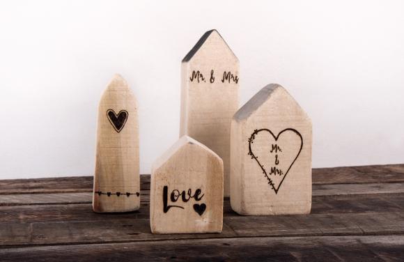 Achat en ligne Maison en bois 13cm