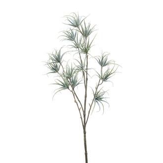 Branche ramifiée artificelle de chlorophile grise 64cm