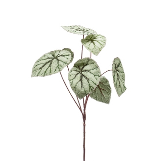 Branche ramifiée artificielle de bégonia 60cm