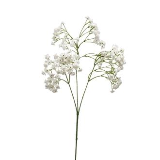 Tige ramifiée de gypsophile blanc 68cm