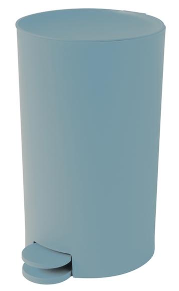 Achat en ligne Poubelle à pédale 3L bleu pétrole en Polypropylène