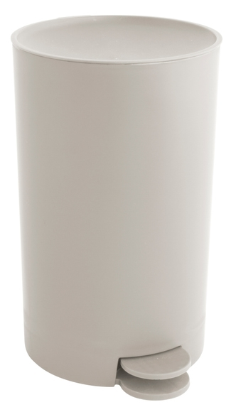 Achat en ligne Poubelle à pédale 3L taupe en Polypropylène