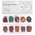 100 lettres et symboles couleurs ou noir&blanc pour lightbox