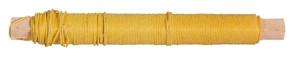 Achat en ligne Fil de papier jaune 0,55mm ø