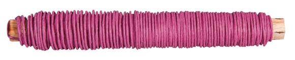 Achat en ligne Fil de papier rose 0,55mm ø