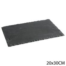 Achat en ligne Assiette ardoise 20X30 cm
