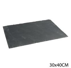 Achat en ligne Assiette ardoise 30X40 cm