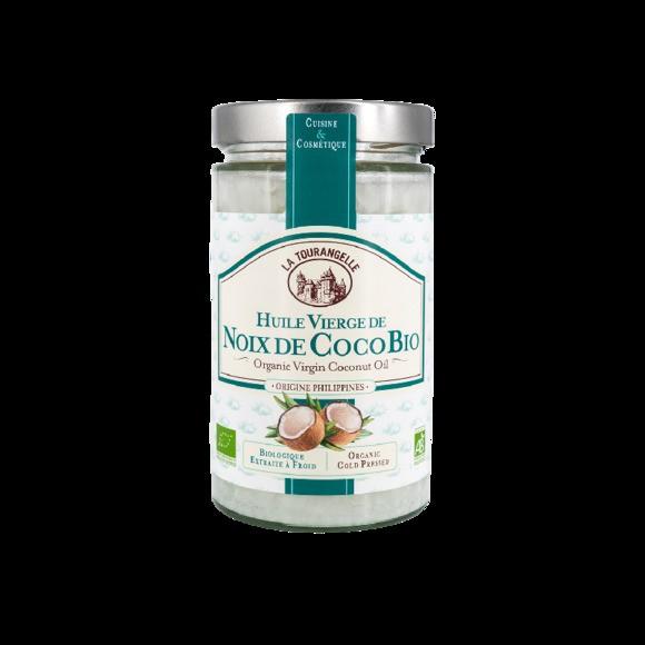 Huile vierge Noix de coco Bio 610ml