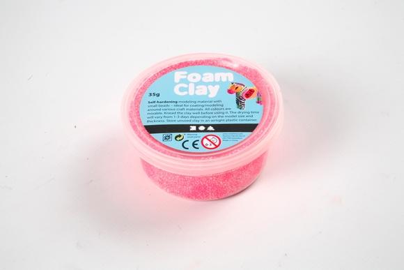Achat en ligne Pot de pâte Foam rose