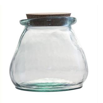 Contenant verre 1,5l avec bouchon en liège