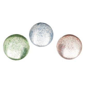3 Balles rebondissantes à paillettes
