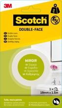 Achat en ligne Rouleau double face 19mmx1,5m pour miroir charge 2kg
