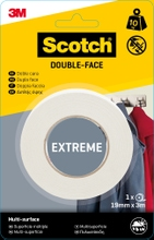 Achat en ligne Rouleau double face extrème  19mmxcharge 10kg