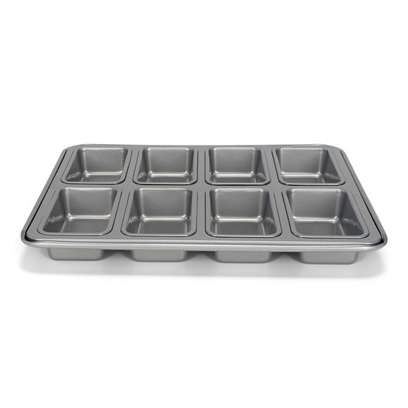 acquista online SILVER TOP - Teglia da forno 8 mini torte