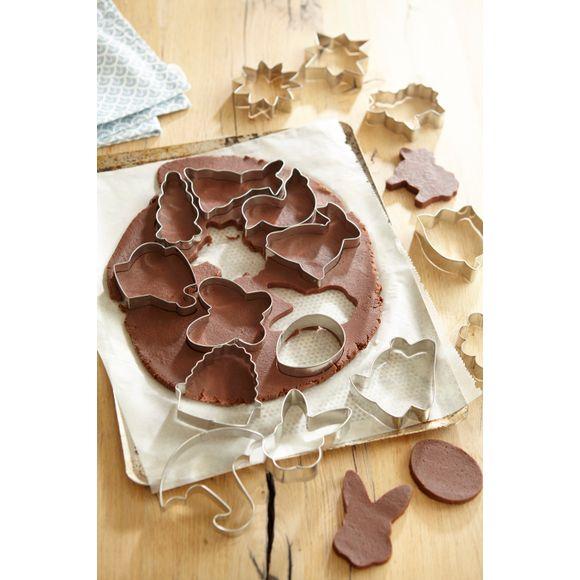 Taglia biscotti Natura, 16 pezzi