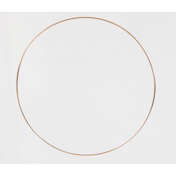 Cercle doré à personnaliser 20cm