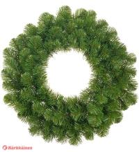 Achat en ligne Décoration de Noël couronne sapin artificiel vert Norton d45