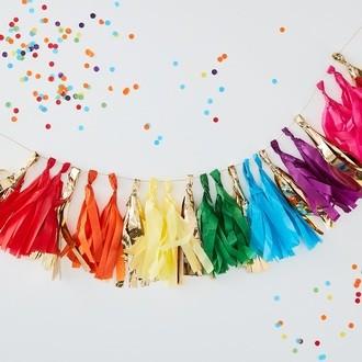 Tassel multicolore