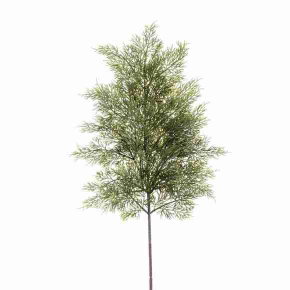Branche de thuya verte 60cm