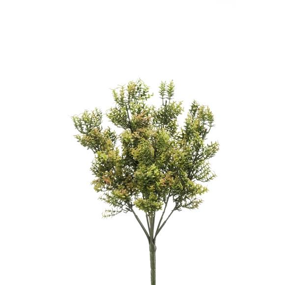 Pic buisson artificielle vert 38cm