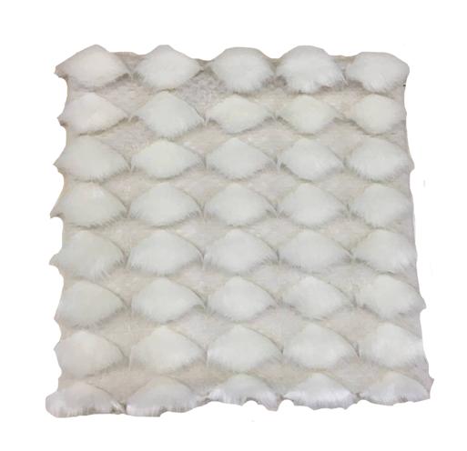 acquista online Plaid in poliestere bianco 125x150cm