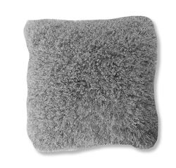 Achat en ligne Coussin Frisette gris argent Soin 40x40cm