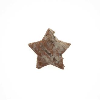 Sachet de 12 étoiles ou sapins à disperser en écorce blanche