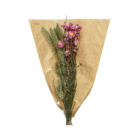 Bouquet de fleurs séchées mélangés