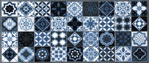 Achat en ligne Tapis de cuisine 50x120 cm carreaux Valenzia