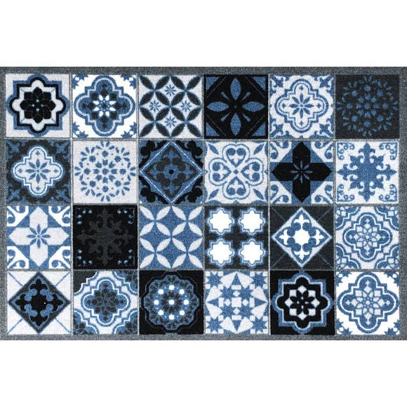 Tapis 50x75 cm carreaux Valenzia