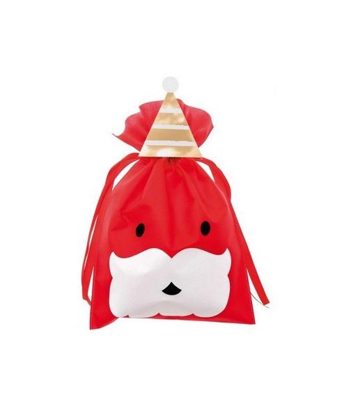 Achat en ligne Grand sac papier rouge père noel