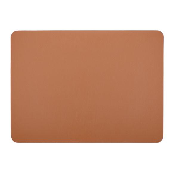 acquista online Tovaglietta americana rettangolare poliestere marrone 33x45cm