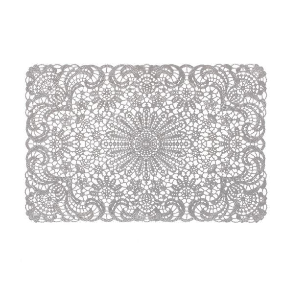 Tovaglietta americana rettangolare cotone bianco 30x45cm