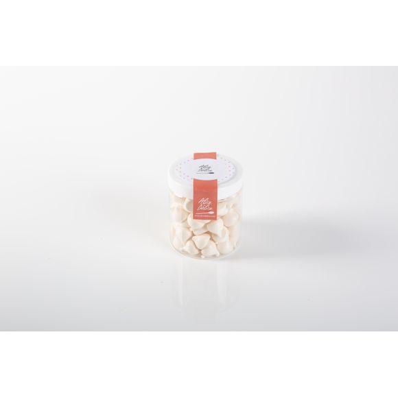 Pot de meringues blanche forme goutte 30g