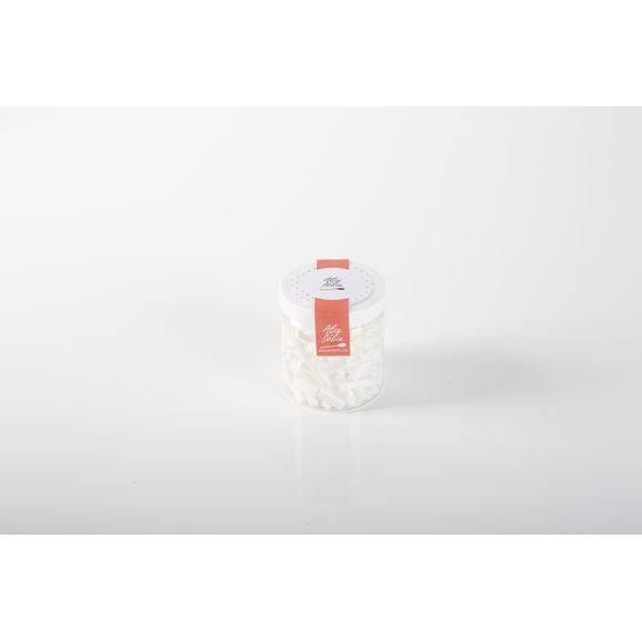 Pot de meringues blanches forme batonnets 30g