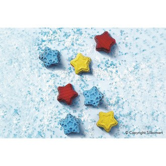 Moule chocolat silicone winter stars