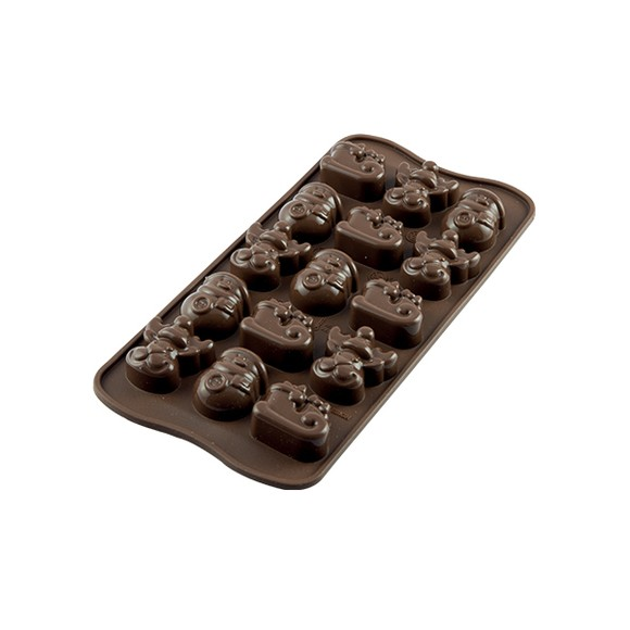 Moule chocolat silicone  Winter