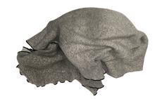 Achat en ligne Plaid en coton Poete gris Vie 130x150cm