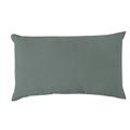 Cuscino rettangolare in velluto grigio 30x60cm