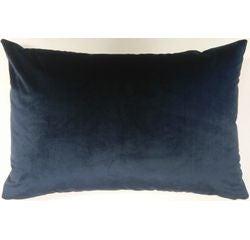 Achat en ligne Coussin scala velours bleu nuit 70x40cm