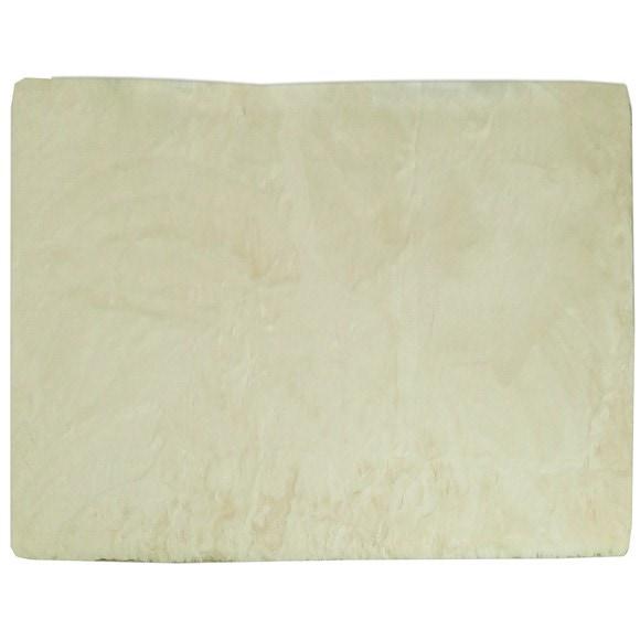 Achat en ligne Tapis peau de bête rectangulaire Gaspard écru 120x180