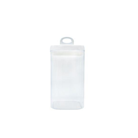 Barattolo easy lock in policarbonato 2,3L, 12,5x12,5x23cm