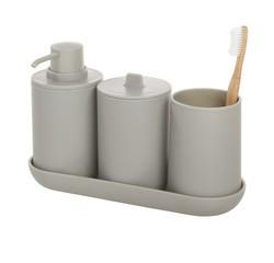 Achat en ligne Set de 4 accessoires gris