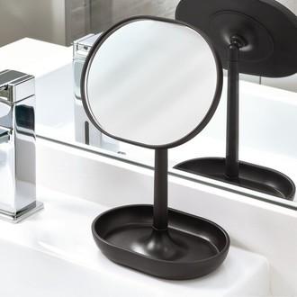 Miroir à poser plastique noir