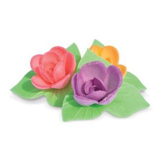 6 mini roses corolles azyme 27g