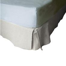 Achat en ligne Cache sommier 90X190cm en coton écru