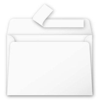 Paquet de 25 cartes postales blanc 210g 82x128mm