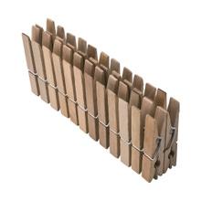 Achat en ligne 24 pinces à linge en bois 9,2cm