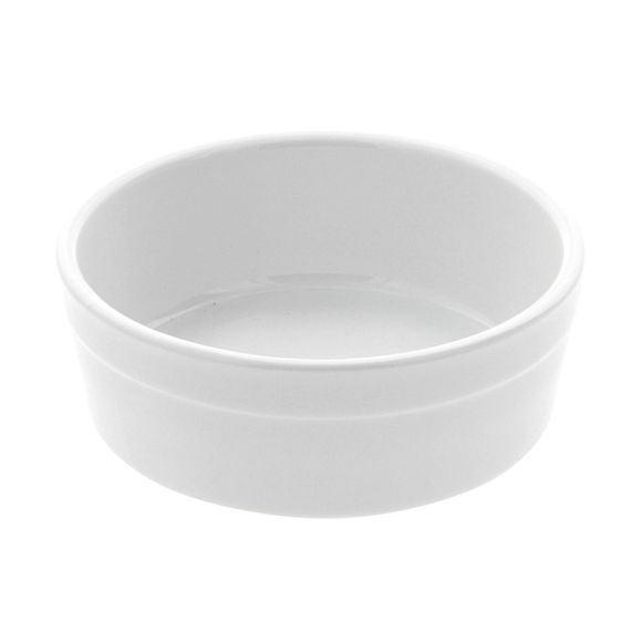 compra en línea Cuenco de porcelana blanca para